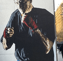 E.L.K paints in heart of Sydney