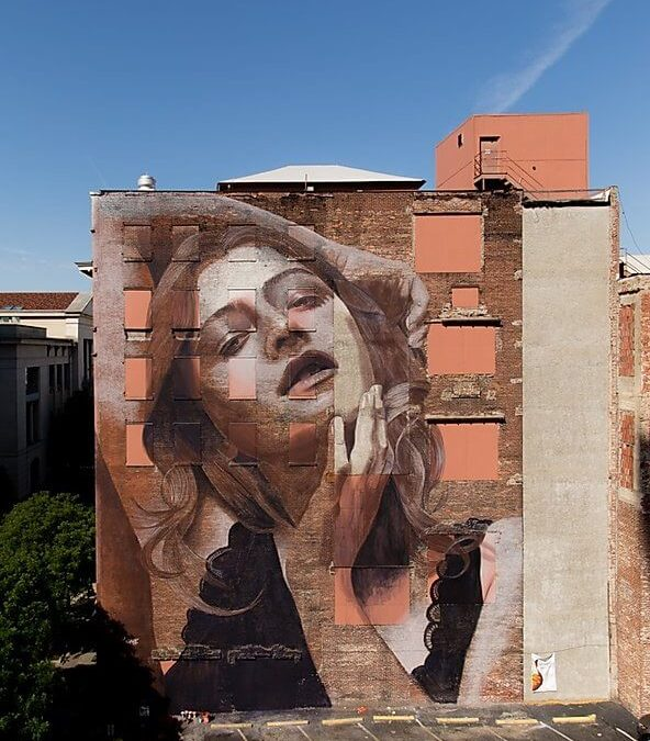 Breathtaking mural by Rone in Nashville, Tennessee