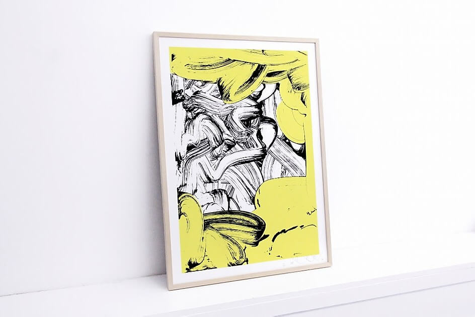 New Print Release by Pablo Tomek 'Yellow Sponge'