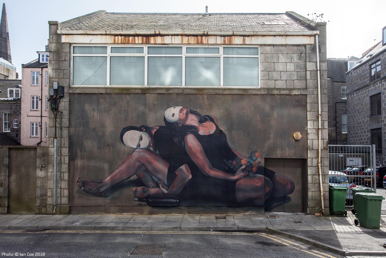 Milu Correch mural