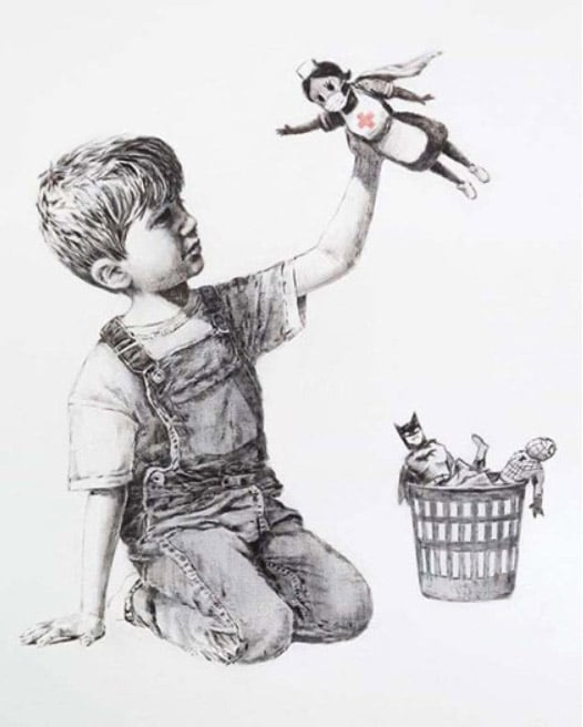 Banksy Devolved Parliament - Street Art Bio