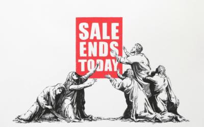 Banksy Value: who's better? Sotheby's, Christie's or MyArtBroker?